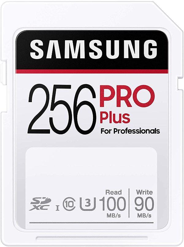 Pro Plus 256GB SDXC 存储卡