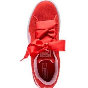 Puma Kids Suede Heart Radicals Big Kid Shoes @ 6PM.com