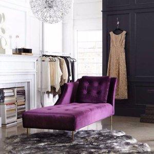 7.5折Horchow 卧室家具、床品、浴室用品、装饰品等促销