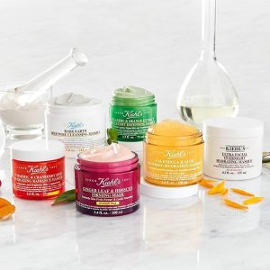 20% OffWith Face Masks Purchase @ Kiehl's