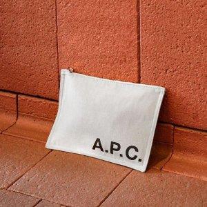 低至4折 €137收半月手包A.P.C. 法国大牌火热促销中 男女装包包一应俱全