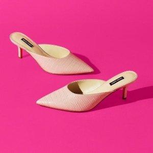 低至3折Nine West 精选美鞋大促 封面款穆勒鞋$23