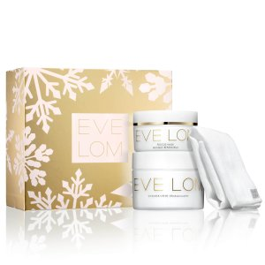 变相5.6折!拼手速手慢无:EVE LOM 圣诞套装  含卸妆膏200ml、急救面膜100ml