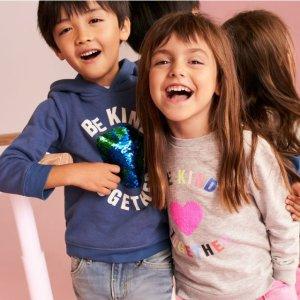 H&M 儿童服饰特卖 多款外套超好价