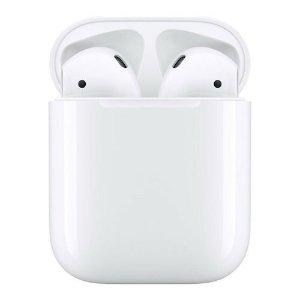 低至$205速秒:Apple苹果 AirPods 第二代真无线耳机 含充电盒