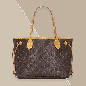 直减£35!钱包£65 £235就收贝壳手提包折扣升级:Louis Vuitton 二手好价收 汇集你想要的老花款 走货超快