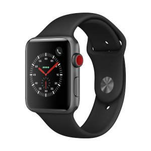 Apple Watch Series 3 GPS + Cellular - 42mm - Sport Band - Aluminum Case