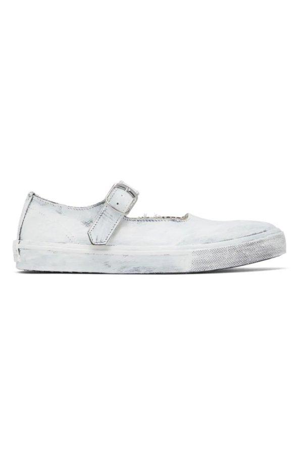 White & Black 芭蕾鞋