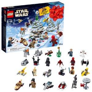 9月上市新品 $33.99 (原价$39.99)LEGO乐高 星战2018圣诞倒计时日历75213