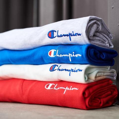 2折起 £15收经典logo短袖折扣升级:Champion 宝藏折扣区持续降价 真大白菜价速速收