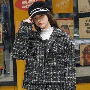 额外9折W Concept 精选秋冬大衣、夹克专场 parka大衣$83