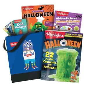 额外8.5折 + 包邮独家:Highlights 万圣节儿童趣味书套装促销