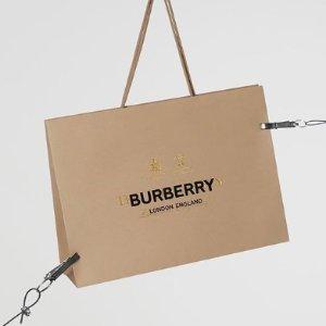 无门槛7折 £161收钱包Burberry 美包配饰大促 经典系列超多选择
