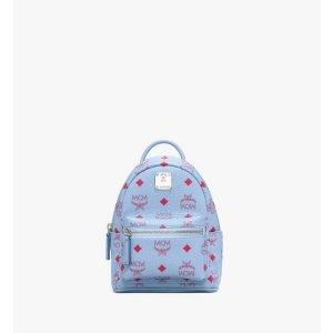 MCMStark Bebo Boo Backpack in Visetos