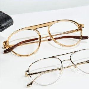 新用户享5折Clearly官网 全场眼镜促销 好看不伤眼