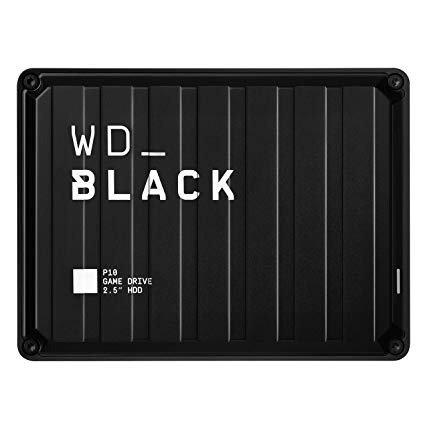 WD Black 5TB P10 外置游戏硬盘