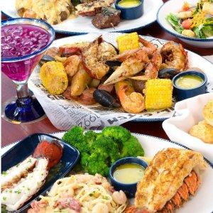 Red Lobster 龙虾大餐回归 意面、烤串、炸龙虾全能满足