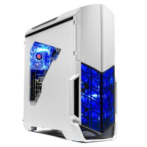$899SkyTech 游戏台式机 (AMD Ryzen 2600, GTX 1070 Ti, 8GB, 500GB)