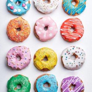 免费 无需进店消费限今天:Krispy Kreme 国家甜甜圈日活动 到店领任意口味甜甜圈