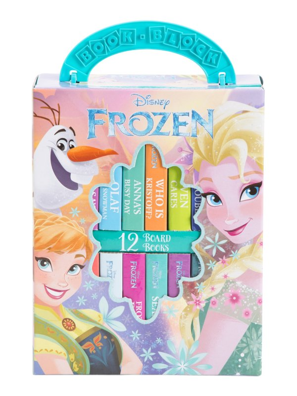 Frozen 童书 12件套
