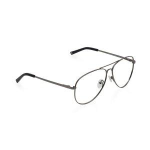 黑色金属细边眼镜框