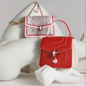 玫瑰丝巾£190 蛇头手镯£330新品上市:Bvlgari 宝格丽官网情人节限定上架 爱的光芒永恒