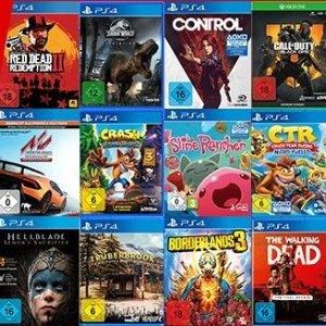 需用码 加到购物车后自动减价PS4 Switch XBOX PC 游戏3个任选€79