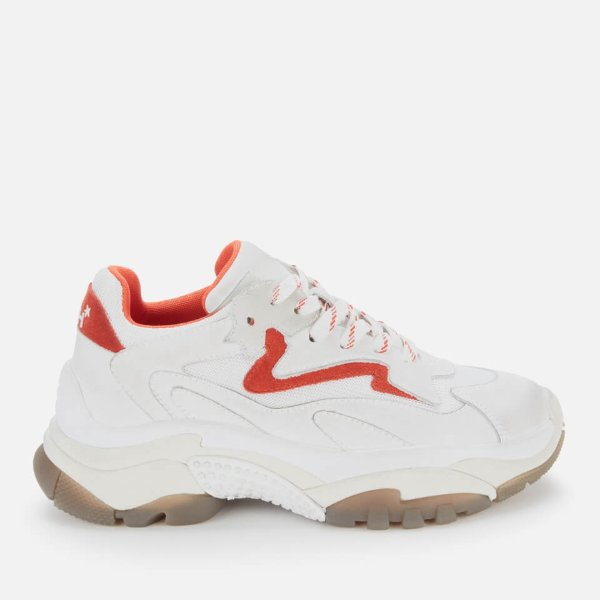 红白色老爹鞋