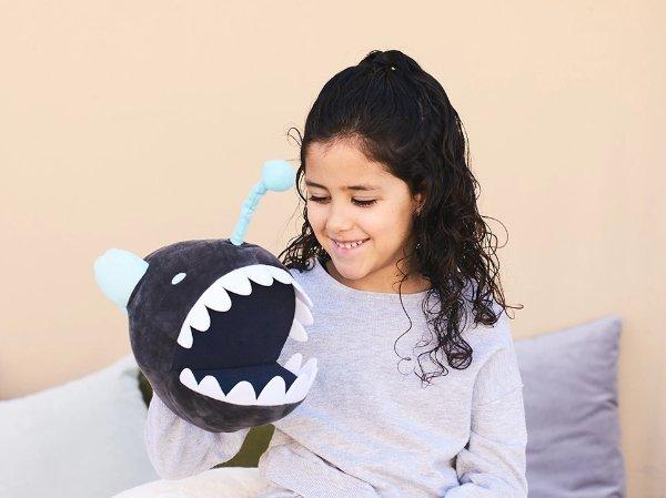自制可发光的 Angler Fish 玩具,适合年龄 5+