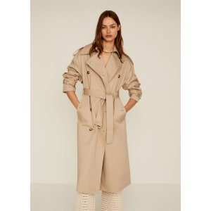 MangoDouble breasted trench - Women | Mango USA
