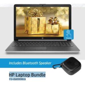 HP 15-da0008ca 笔记本+HP迷你蓝牙音箱300