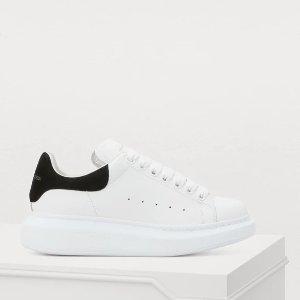 满额7.5折 £270凑单收麦昆小白鞋Alexander McQueen  全场闪促中 断码快且买且珍惜