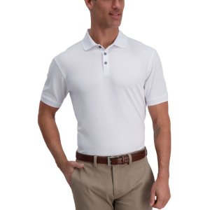 Cool 18® Pro Waffle Textured Golf Polo