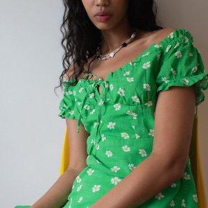 3折起+额外7折 连衣裙低至$6!Urban Outfitters 美裙热卖 仙女度假风、甜酷辣妹风都有