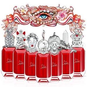 7款香型 艺术香氛Christian Louboutin 女王权杖香水 高定系列 get味觉奇幻之旅