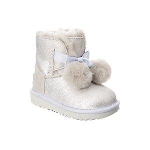 UGG毛绒球雪地靴