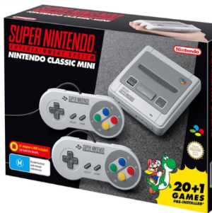新用户$99 + 包邮Nintendo Classic Mini  超级任天堂经典游戏机