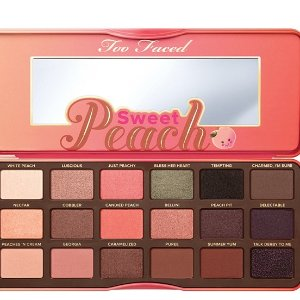 Too Faced Sweet Peach Eye Shadow Palette @ QVC