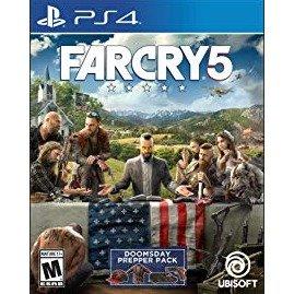 $23.99(原价$59.99)热门动作游戏《孤岛惊魂5》PS4 数字版