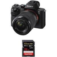 Sony Alpha a7 II + 28-70mm 镜头 + Sandisk 至尊超级速 32GB