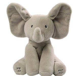 $24 Gund Baby Animated Flappy The Elephant Plush Toy