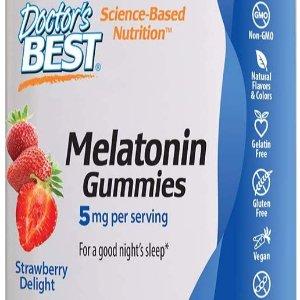 Doctor's Best Melatonin Gummies 5mg 60ct