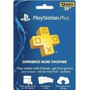 $471-Year Sony PlayStation Plus Membership