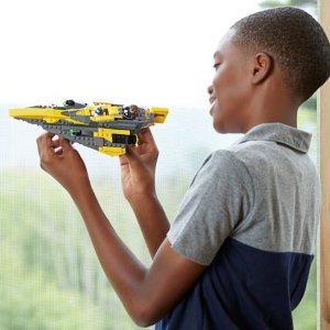 $34.98(原价$49.99)LEGO 乐高 星球大战系列 安纳金的绝地星际战机75214