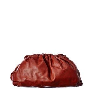 Bottega VenetaThe Pouch Leather Clutch