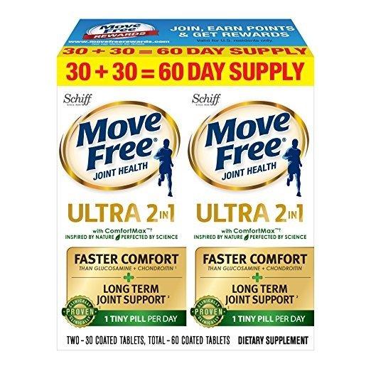 最新款 Move Free 维骨力 Ultra 2in1 Comfort Max 60粒