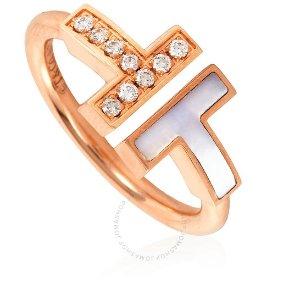 Tiffany & Co.Tiffany T字钻石戒指