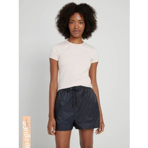 Frank And OakLa coupe: Short-Sleeved Cotton Tee in Peach