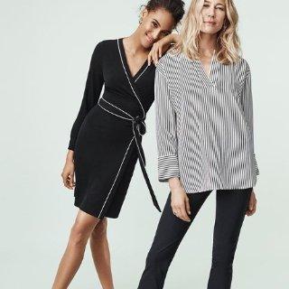 低至4折+满3件享额外8.5折+限时免邮Ann Taylor Factory Outlet 精选气质女装特卖