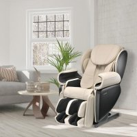 Johnson Wellness 4D高级皮制按摩椅 日本设计 白色